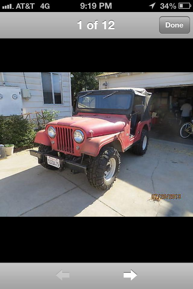 more details - jeep cj-5