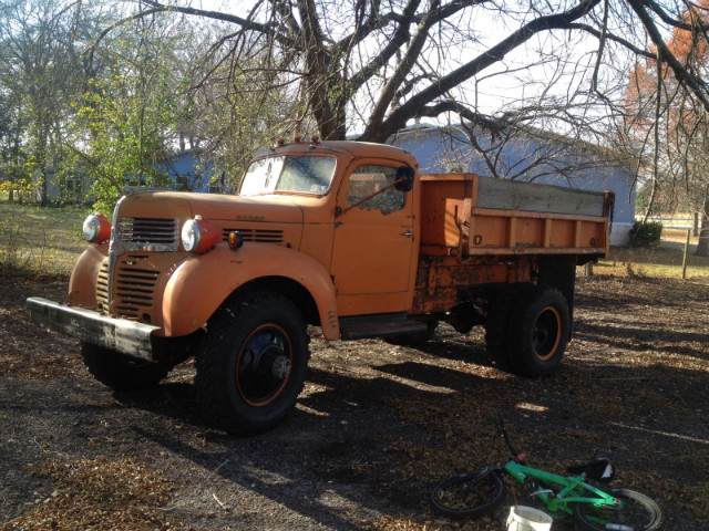 1940 Dodge VF-404 4X4 Dump Truck at CarsBikesBoats.com in Round Mountain TX