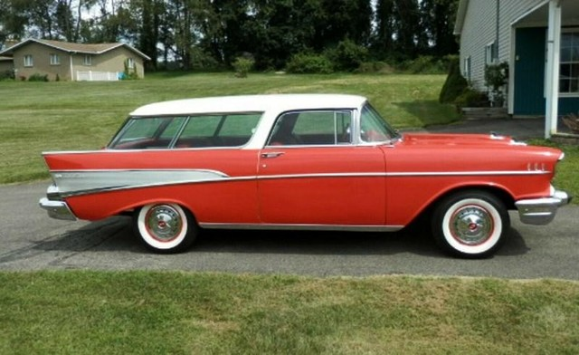 Chevrolet Nomad Nomad - 1957 Chevrolet Nomad Nomad - 1957 Chevrolet Nomad