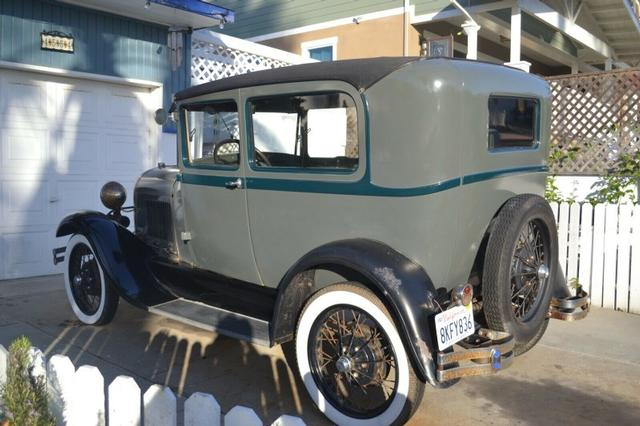 1929 Ford A 2 Door Sedan at CarsBikesBoats.com in Round Mountain TX