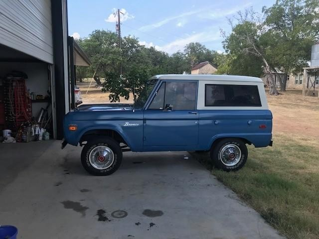 Ford Bronco   - Round Mountain TX