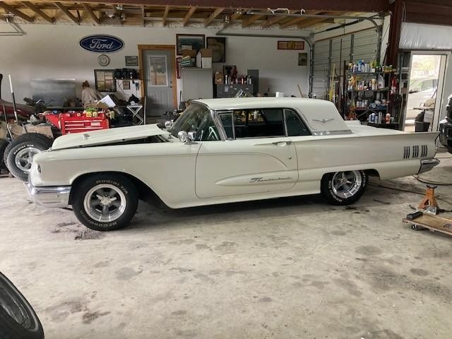 1960 Ford Thunderbird   at CarsBikesBoats.com in Round Mountain TX