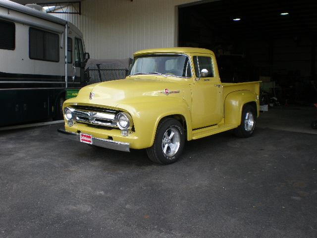 1956 Ford F-100 Shortbed Pickup at CarsBikesBoats.com in Round Mountain TX