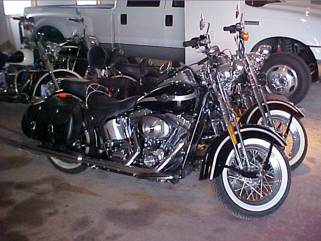 2003 Harley-Davidson FLSTS Heritage Springer  at CarsBikesBoats.com in Round Mountain TX