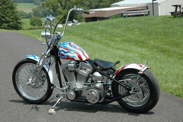 Other ACM Red White & Blue Bobber! Vehicle Image 04