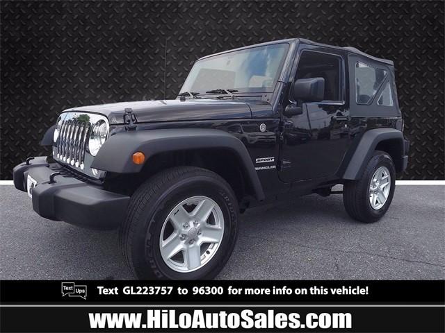 more details - jeep wrangler