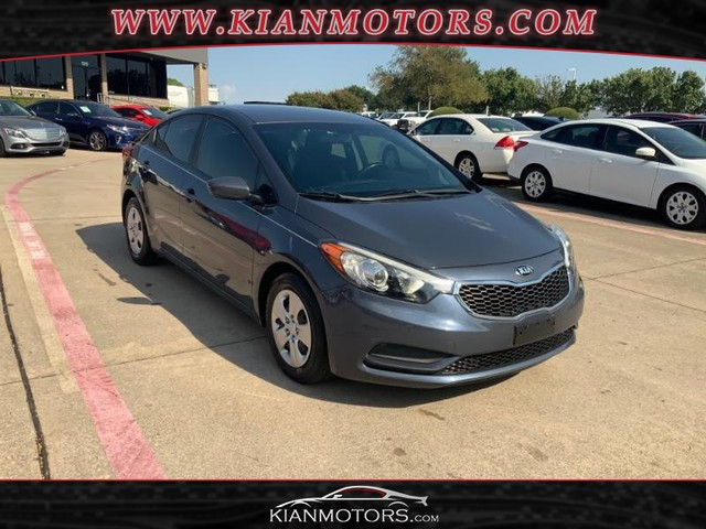 2016 Kia Forte LX 6-SPEED MANUAL at Kian Motors Denton in Denton TX