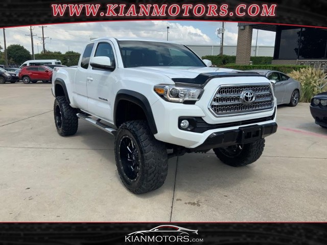 2016 Toyota Tacoma 4WD TRD Off Road Access Cab at Kian Motors Plano in Plano TX