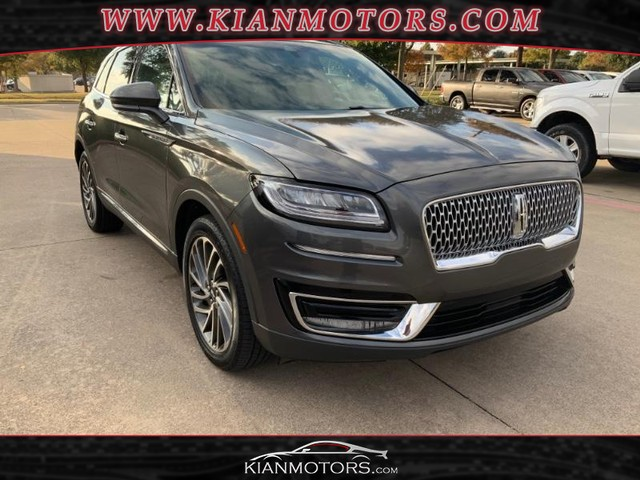 2019 Lincoln Nautilus Reserve at Kian Motors Plano in Plano TX