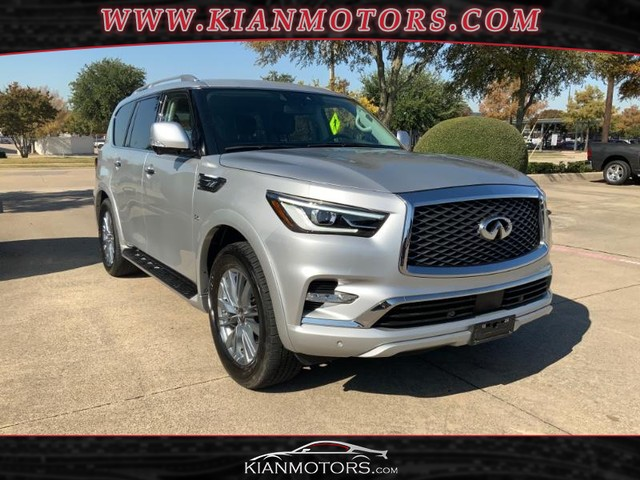 2019 INFINITI QX80 LUXE at Kian Motors Plano in Plano TX