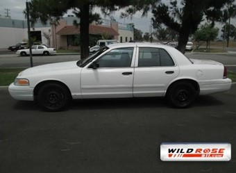 2005 Ford Crown Victoria   at Wild Rose Motors - PoliceInterceptors.info in Anaheim CA
