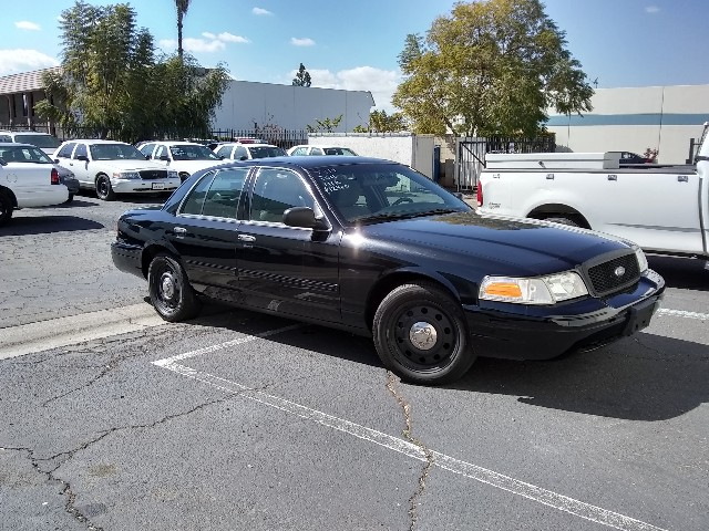 The 2011 Ford Crown Victoria Police Interceptor