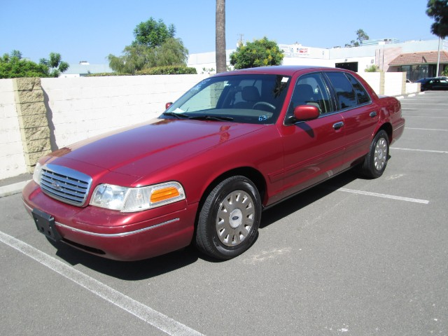 2003 Ford Crown Victoria Police Interceptor at Wild Rose Motors - PoliceInterceptors.info in Anaheim CA