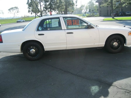 Ford Crown Victoria P71 Police Interceptor - Anaheim CA