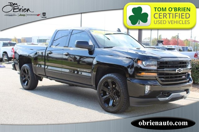 2018 Chevrolet Silverado 1500 4WD LT w/2LT Double Cab at Tom O'Brien Chrysler Jeep Dodge Ram in Indianapolis IN